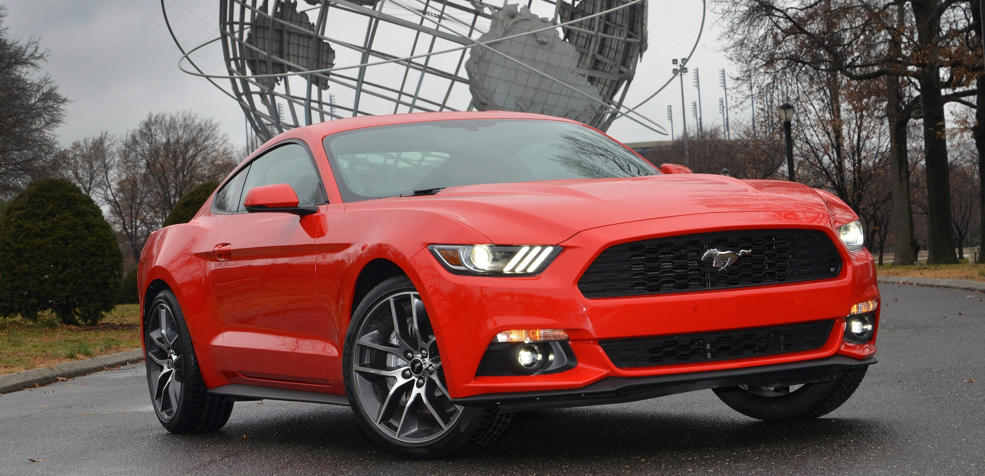 All-New Mustang at World's Fair site