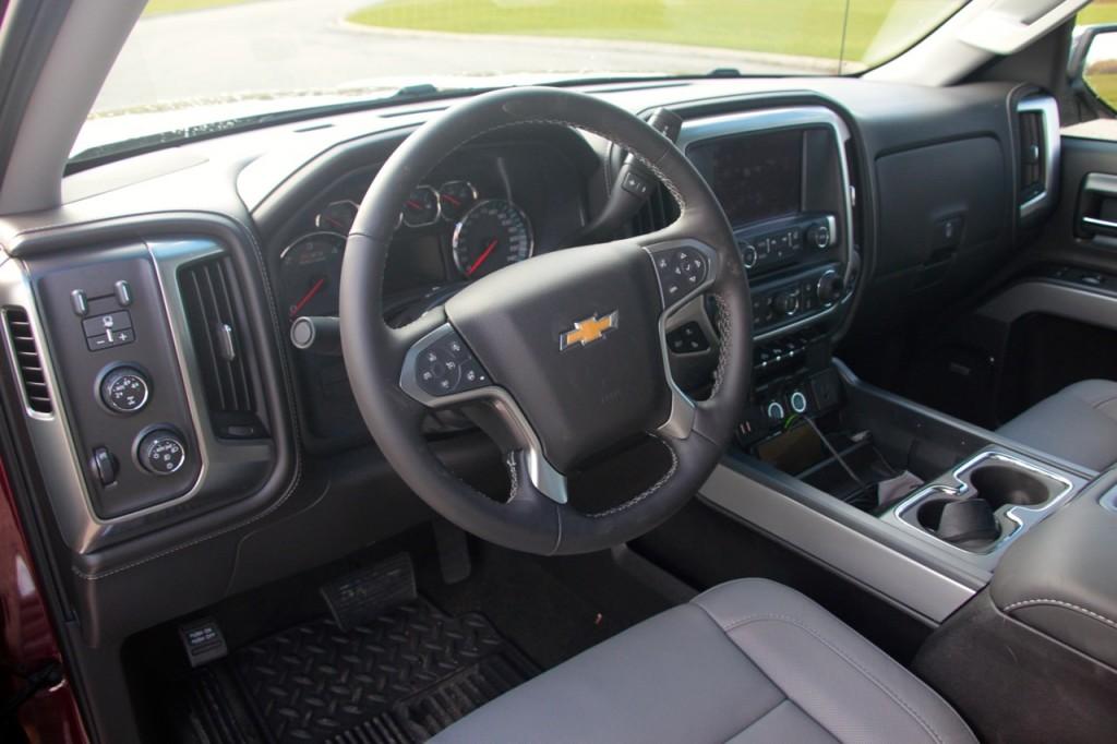 2015 Chevy Silverado LTZ 14